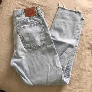 Levi's womens light wash wedgie jeans size 26